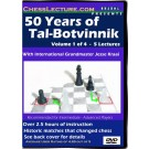 50_years_of_tal_botvinnik_volume_1_front_cover