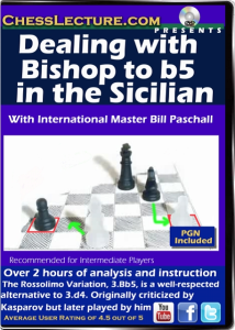 Dealing with Bishop to b5 in the Sicilian F