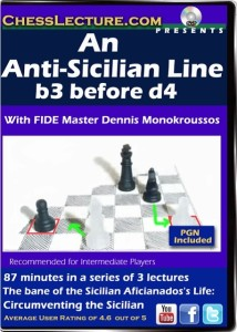 An Anti-Sicilian Line- b3 before d4