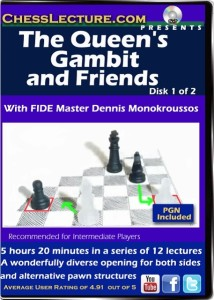 The Queen's Gambit and Friends D1 front