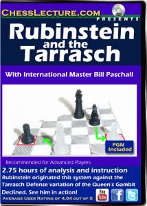 Rubinstein and the Tarrish F