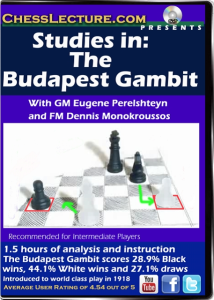 Studies in The Budapest Gambit F